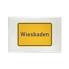 Wiesbaden Roadmarker, Germany Rectangle Magnet