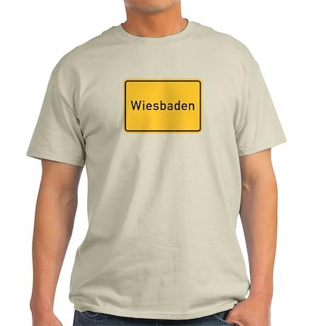Wiesbaden Roadmarker, Germany Light T-Shirt