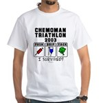 2003 Chemoman Triathlon White T-Shirt