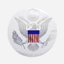 uscg_flg_d5.png Round Ornament
