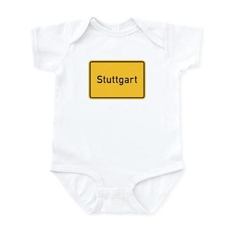 Stuttgart Roadmarker, Germany Infant Bodysuit