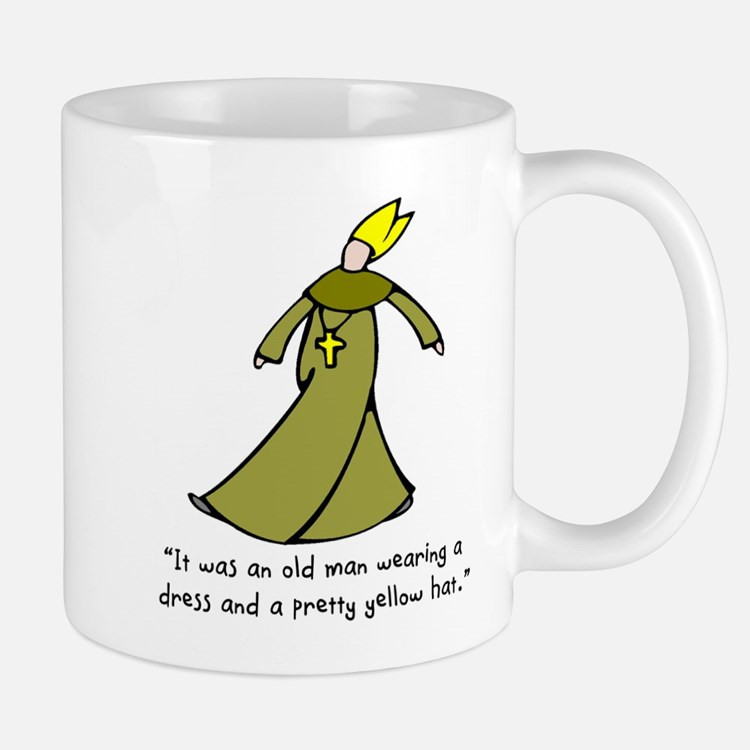 Old Man in a Dress Mug