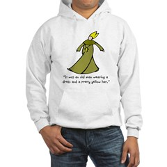 Old Man in a Dress Hoodie