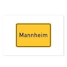 Mannheim Roadmarker, Germany Postcards (Package o