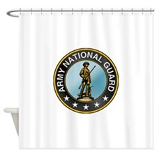 barmy_guard.png Shower Curtain