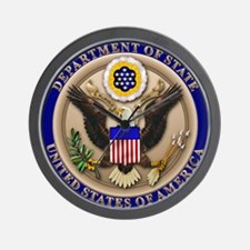 STATE_DEPT_2x.png Wall Clock