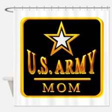 3-usarmy_mom.png Shower Curtain
