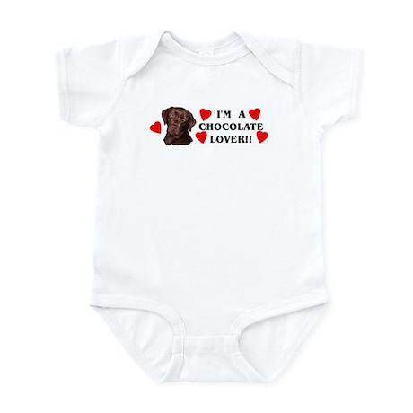 chocolate lab lover Infant Bodysuit
