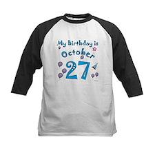 October 27th Birthday Tee