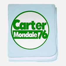 Carter Mondale baby blanket