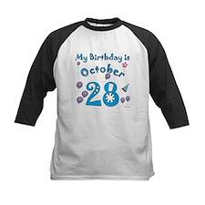 October 28th Birthday Tee