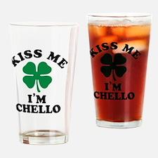 Funny Chello Drinking Glass