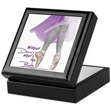 Pointe Keepsake Box