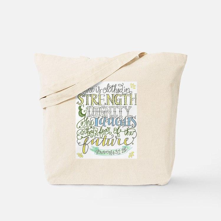 Cute Proverbs 31 Tote Bag