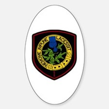 1st Squadron Oval Decal