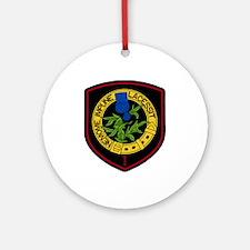 1st Squadron Ornament (Round)