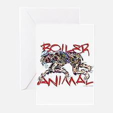 boiler animal Greeting Cards (Pk of 10)