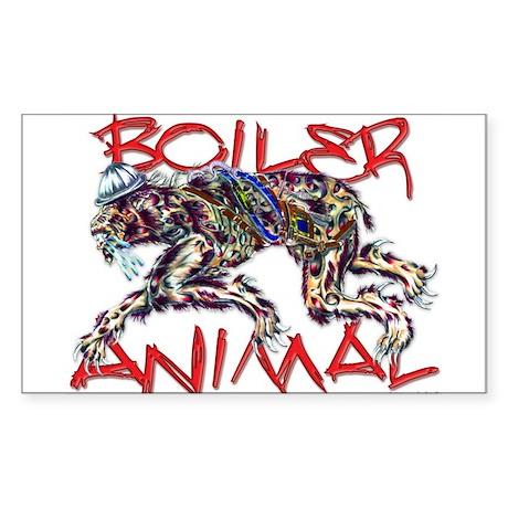 boiler animal Rectangle Sticker