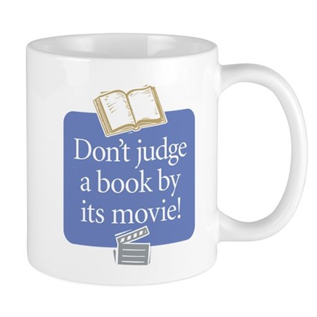 Don't Judge a Book - Mug