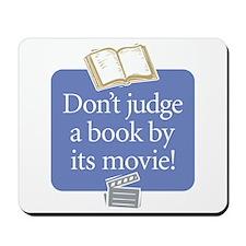 Don't Judge a Book -  Mousepad