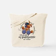 Somebunnie Tote Bag