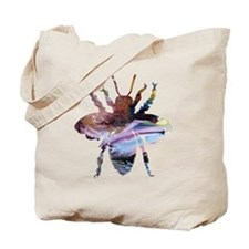 Cute Bee art Tote Bag