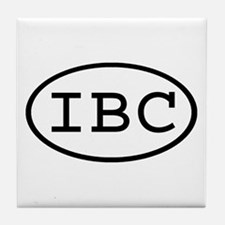 IBC Oval Tile Coaster