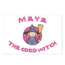 Maya the Good Witch Postcards (Package of 8)