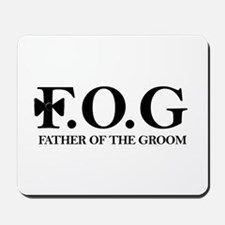 Father of the Groom Mousepad