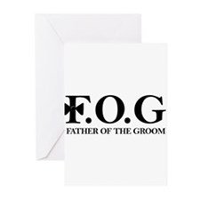 Father of the Groom Greeting Cards (Pk of 10)