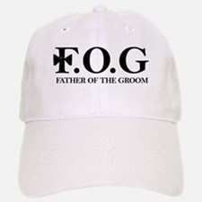 Father of the Groom Baseball Baseball Cap