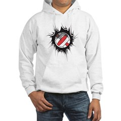 Volleyball Inside Hoodie