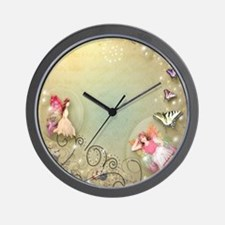 Flowers & Florals Mug Wall Clock