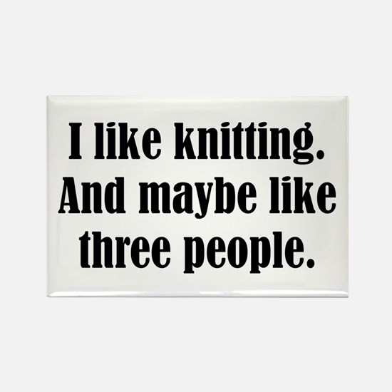 Knitting Magnets
