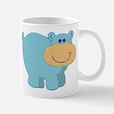 Light Blue Hippo Mug