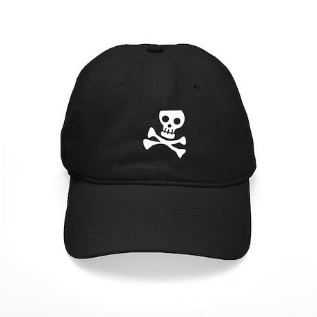 Cute Skull Black Cap
