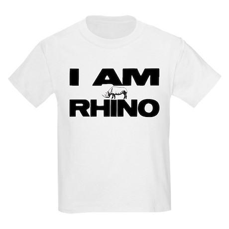 I AM RHINO Kids Light T-Shirt