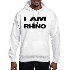 I AM RHINO Jumper Hoody