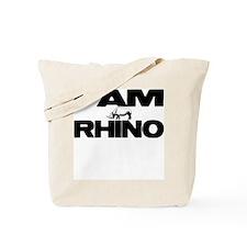 I AM RHINO Tote Bag
