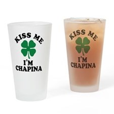 Funny Chapina Drinking Glass