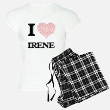 I love Irene (heart made fr Pajamas