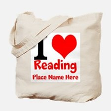 I Love Reading Tote Bag