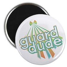 Retro Guard Dude Magnet