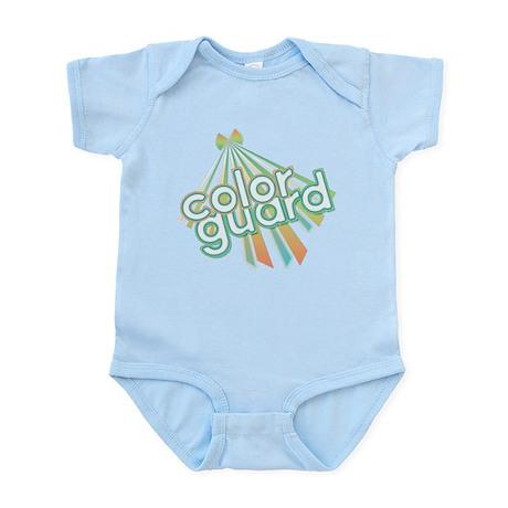 Retro Color Guard Infant Bodysuit