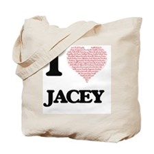 Funny Jacey Tote Bag