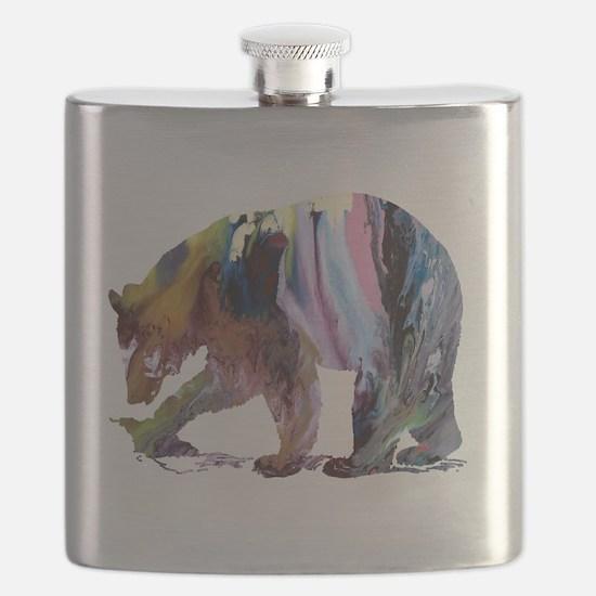 Funny Artwork Flask