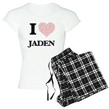 I love Jaden (heart made fr Pajamas