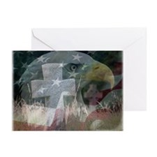 Funny Patriotic christmas Greeting Cards (Pk of 20)