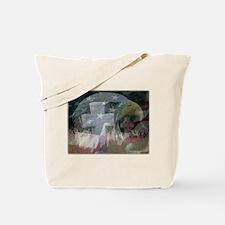 Cool Christmas yard Tote Bag