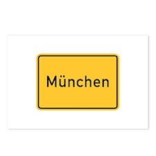Munich Roadmarker, Germany Postcards (Package of
